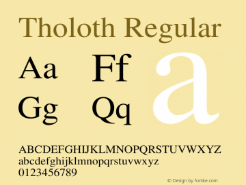 Tholoth