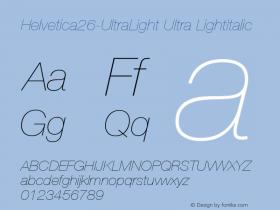 Helvetica26-UltraLight