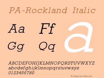 PA-Rockland