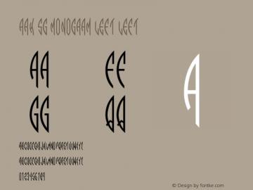 Ark SG Monogram Left