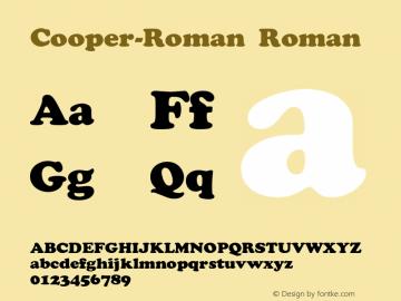 Cooper-Roman