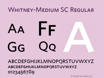 Whitney-Medium SC