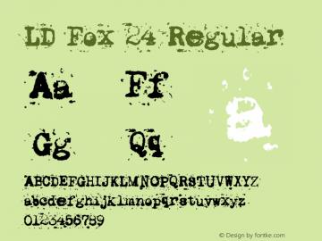 LD Fox 24