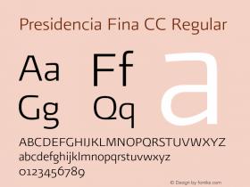 Presidencia Fina CC