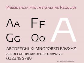 Presidencia Fina Versalitas