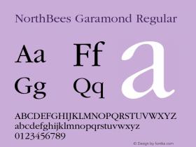 NorthBees Garamond