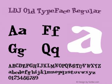 LDJ Old TypeFace