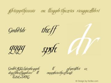 Scriptissimo Ligature