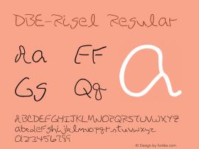 DBE-Rigel