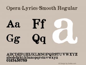 Opera-Lyrics-Smooth