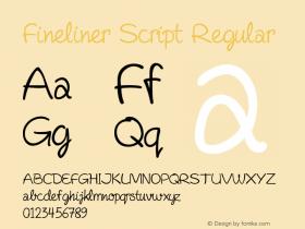 Fineliner Script