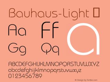 Bauhaus-Light