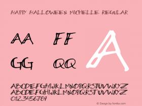 Happy Halloween Michelle