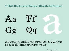 VTKS Black Label Normal