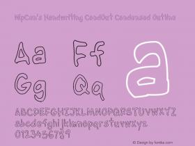 NipCen's Handwriting CondOut