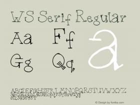 WS Serif