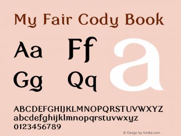 My Fair Cody