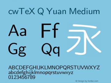 cwTeX Q Yuan