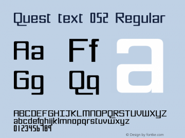 Quest text 052