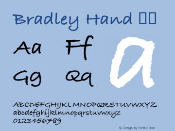 Bradley Hand