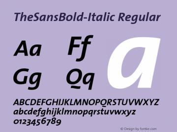 TheSansBold-Italic