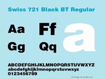 Swiss 721 Black BT