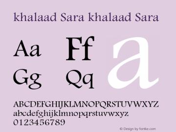 khalaad Sara