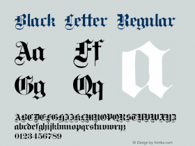 Black Letter