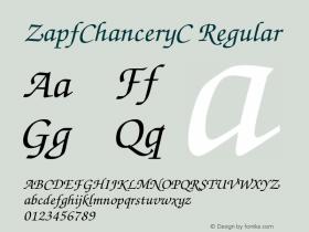 ZapfChanceryC