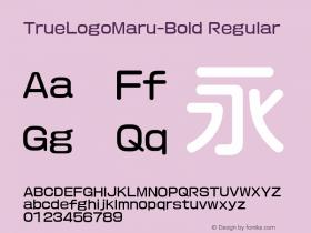 TrueLogoMaru-Bold