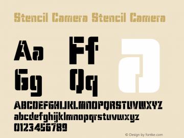 Stencil Camera