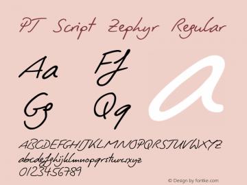 PT Script Zephyr