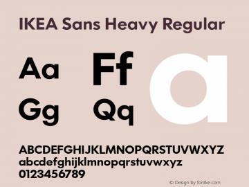 IKEA Sans Heavy