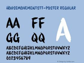 HouseMovementsTT-Poster