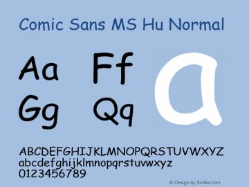 Comic Sans MS Hu