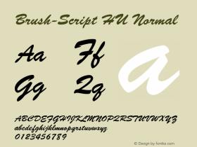 Brush-Script HU