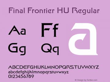 Final Frontier HU