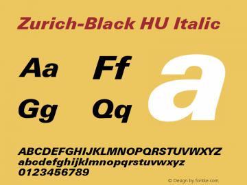 Zurich-Black HU