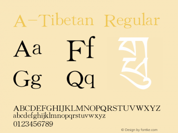 A-Tibetan