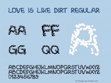 Love is like dirt