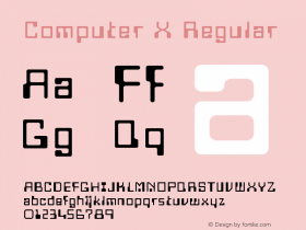 Computer X