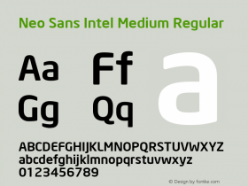 Neo Sans Intel Medium