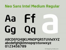 Neo Sans Intel Medium