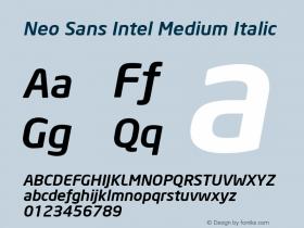 Neo Sans Intel