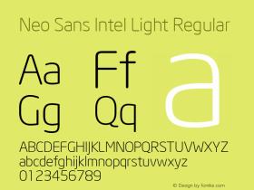 Neo Sans Intel Light