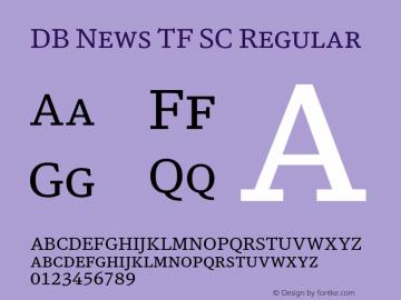 DB News TF SC