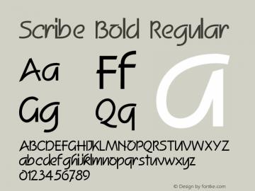 Scribe Bold