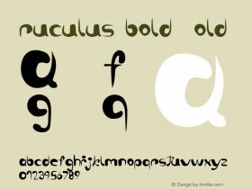 ruculus bold