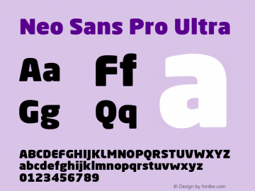 Neo Sans Pro
