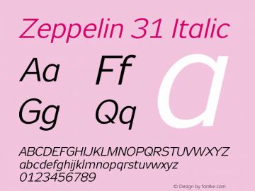 Zeppelin 31
